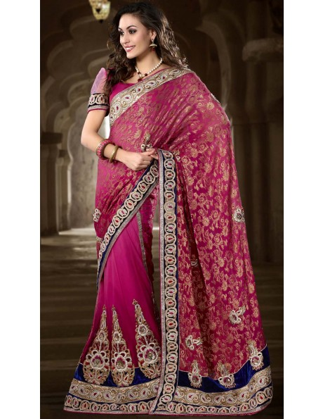 Different trends in the ethnic yet modern sarees